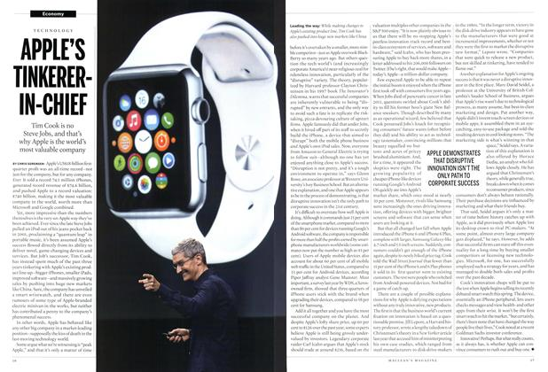 Article Preview: APPLE'S TINKERER-IN-CHIEF, March 2015 | Maclean's