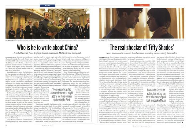 Article Preview: The real shocker of 'Fifty Shades', March 2015 | Maclean's