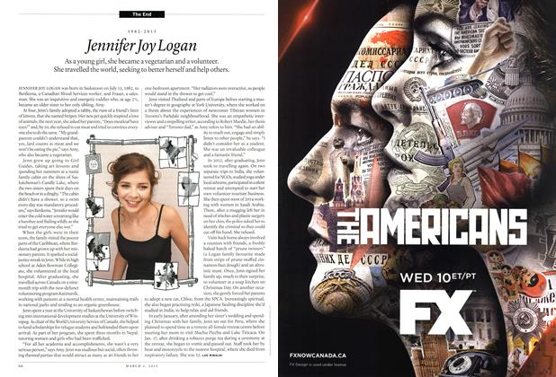 Article Preview: Jennifer Joy Logan, March 2015 | Maclean's