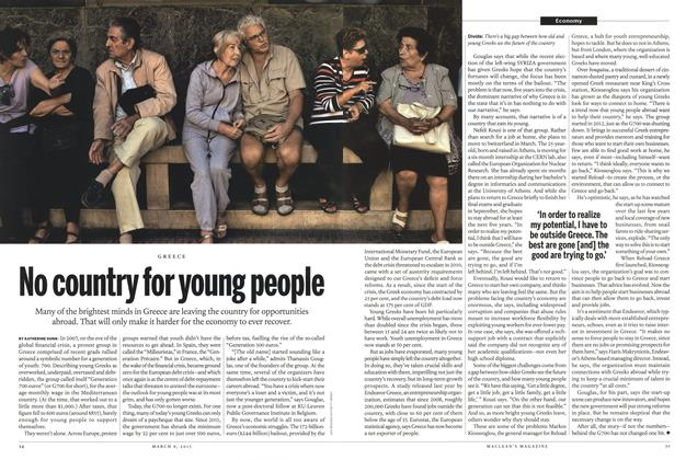 Article Preview: No country for young people, March 2015 | Maclean's