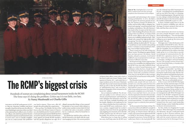 Article Preview: The RCMP's biggest crisis, March 2015 | Maclean's