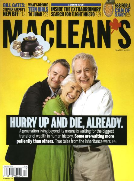 Issue: - MARCH 16,2015 | Maclean's