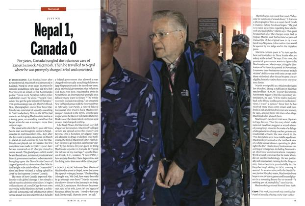 Article Preview: Nepal 1, Canada 0, MARCH 16,2015 2015 | Maclean's