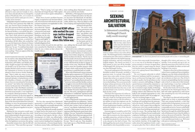 Article Preview: SEEKING ARCHITECTURAL SALVATION, MARCH 16,2015 2015 | Maclean's