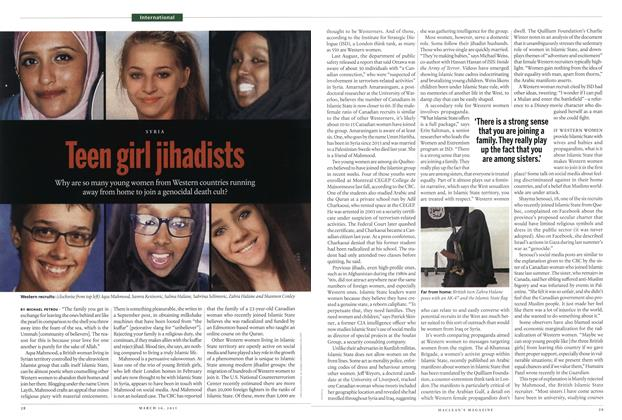 Article Preview: Teen girl jihadists, MARCH 16,2015 2015 | Maclean's