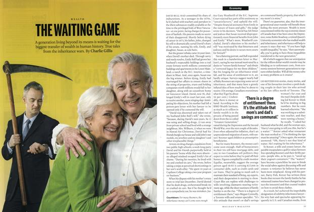 Article Preview: THE WAITING GAME, MARCH 16,2015 2015 | Maclean's