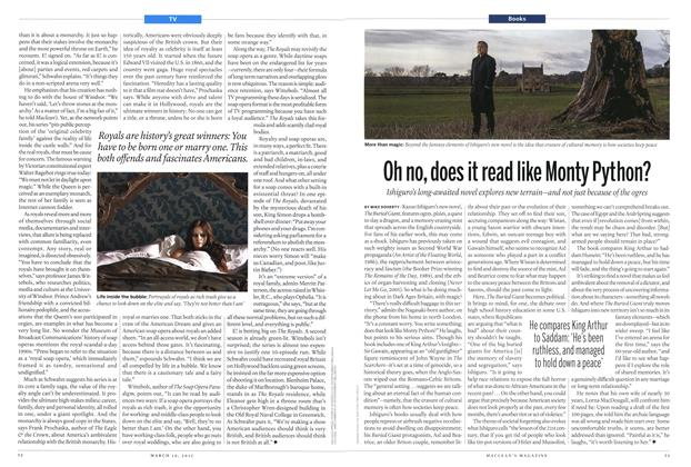 Article Preview: Oh no, does it read like Monty Python?, MARCH 16,2015 2015 | Maclean's