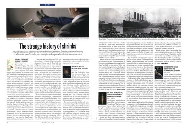 Article Preview: The strange history of shrinks, MARCH 16,2015 2015 | Maclean's