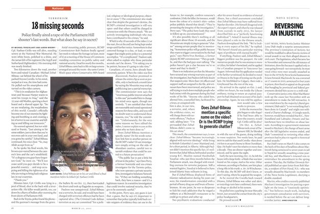 Article Preview: 18missing seconds, March 2015 | Maclean's