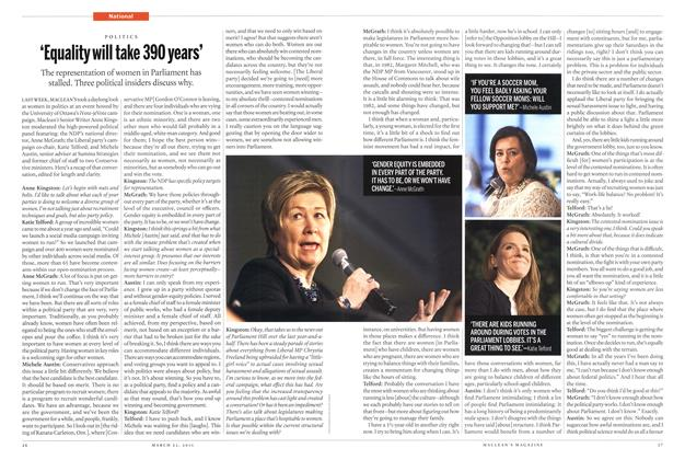 Article Preview: 'Equality will take 390years', March 2015 | Maclean's
