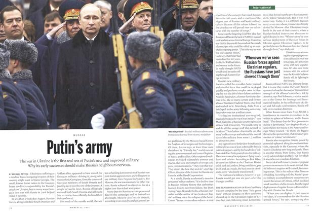 Article Preview: Putin's army, March 2015 | Maclean's
