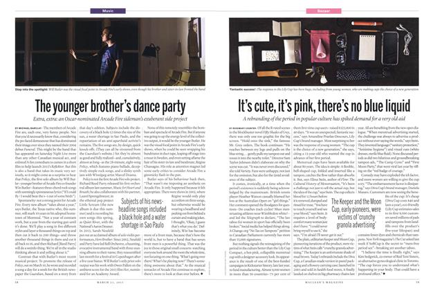 Article Preview: The younger brother's dance party, March 2015 | Maclean's