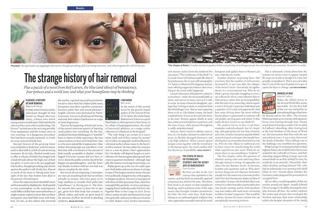Article Preview: The strange history ot hair removal, March 2015 | Maclean's