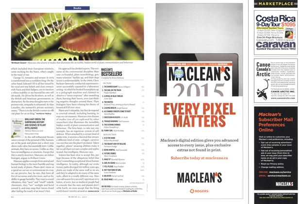 Article Preview: MACLEAN'S BESTSELLERS, March 2015 | Maclean's