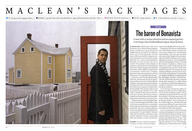 Article Preview: The baron of Bonavista, March 2015 | Maclean's