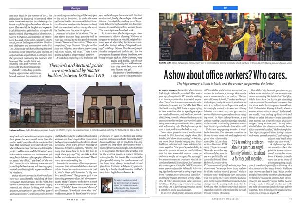 Article Preview: A show about office workers? Who cares., March 2015 | Maclean's