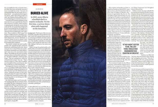 Article Preview: BURIED ALIVE, April 2015 | Maclean's