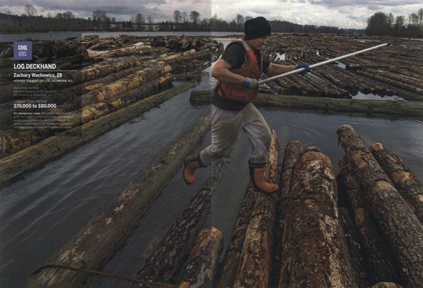 Article Preview: LOG DECKHAND, April 2015 | Maclean's