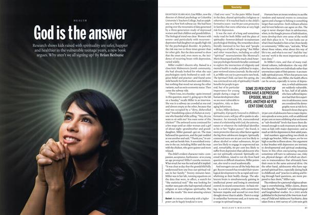 Article Preview: God is the answer, April 2015 | Maclean's
