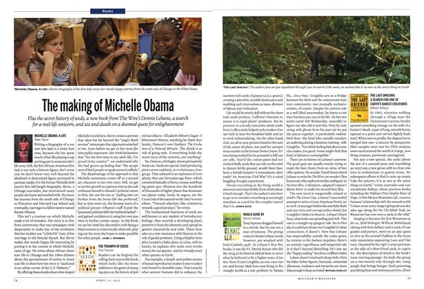 Article Preview: The making of Michelle Obama, April 2015 | Maclean's