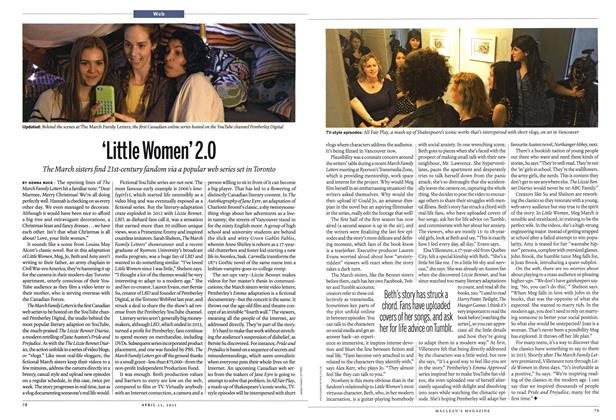 Article Preview: 'Little Women'2.0, April 2015 | Maclean's