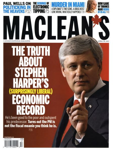 Issue: - April 2015 | Maclean's