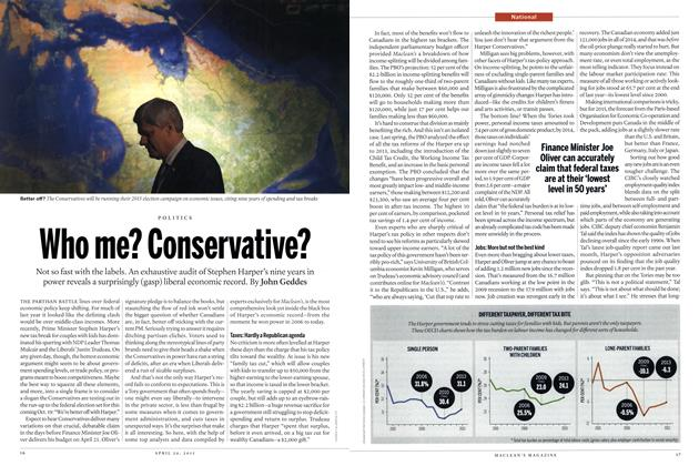 Article Preview: Who me? Conservative?, April 2015 | Maclean's