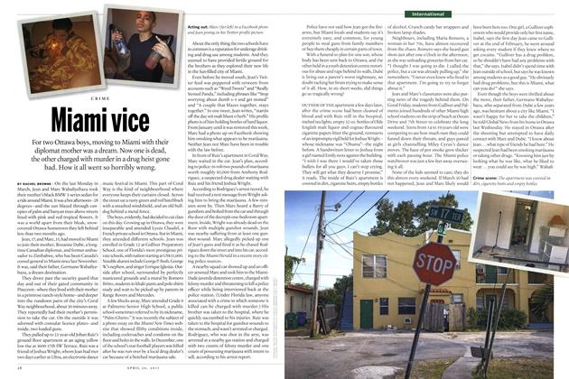 Article Preview: Miami vice, April 2015 | Maclean's