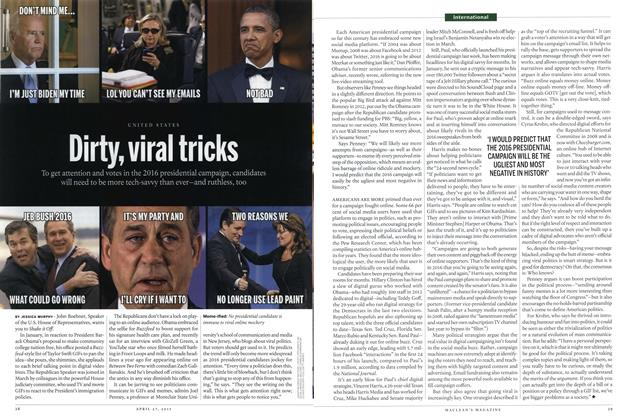 Article Preview: Dirty, viral tricks, April 2015 | Maclean's