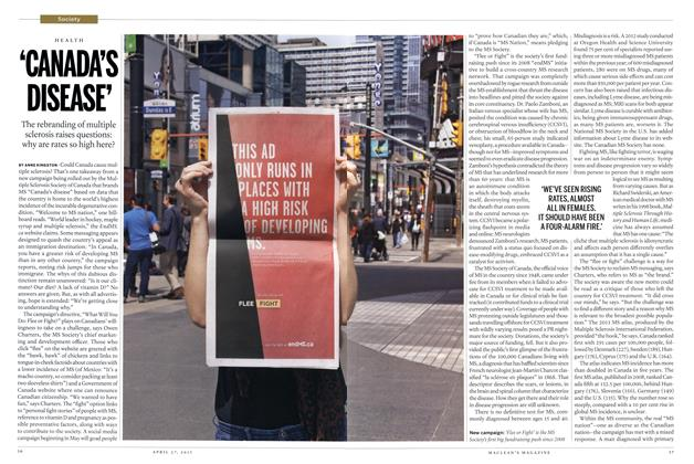 Article Preview: 'CANADA'S DISEASE', April 2015 | Maclean's