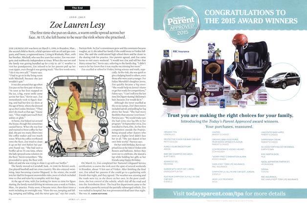 Article Preview: 1999-2015 Zoe Lauren Lesy, April 2015 | Maclean's