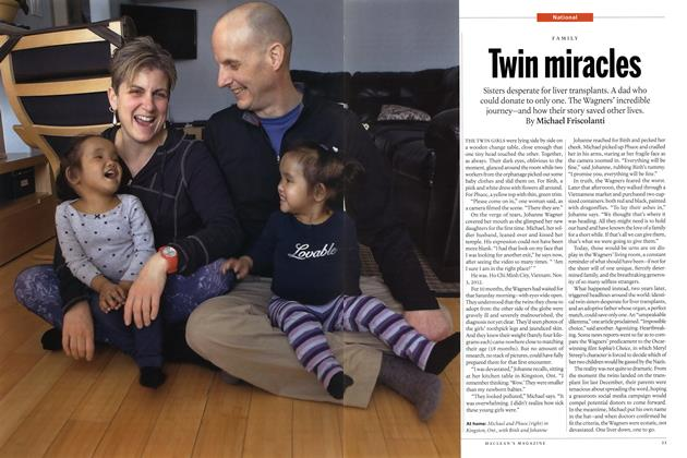 Article Preview: Twin miracles, May 2015 | Maclean's