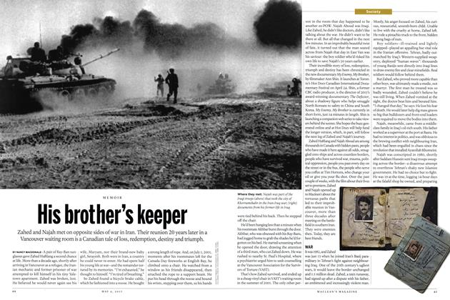 Article Preview: His brother's keeper, May 2015 | Maclean's