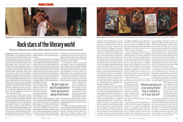 Article Preview: Rock stars of the literary world, May 2015 | Maclean's