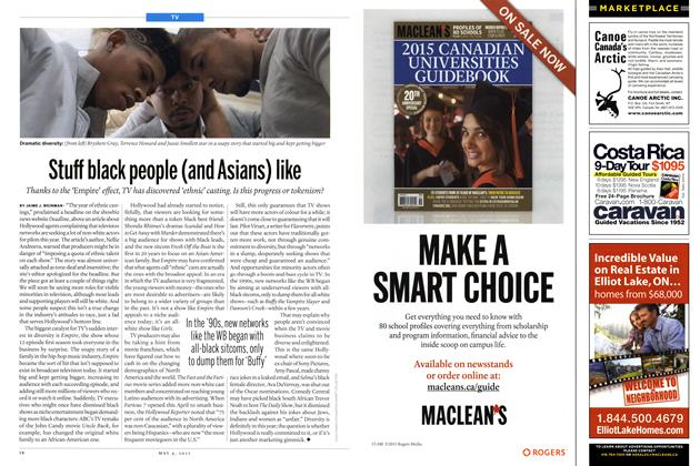 Article Preview: Stuff black people (and Asians) like, May 2015 | Maclean's