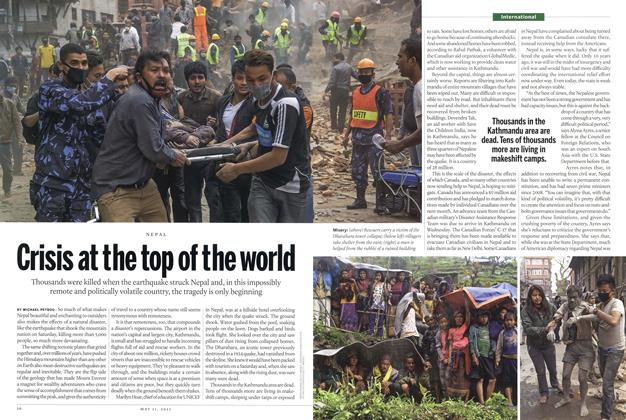 Article Preview: Crisis at the top of the world, May 2015   Maclean's