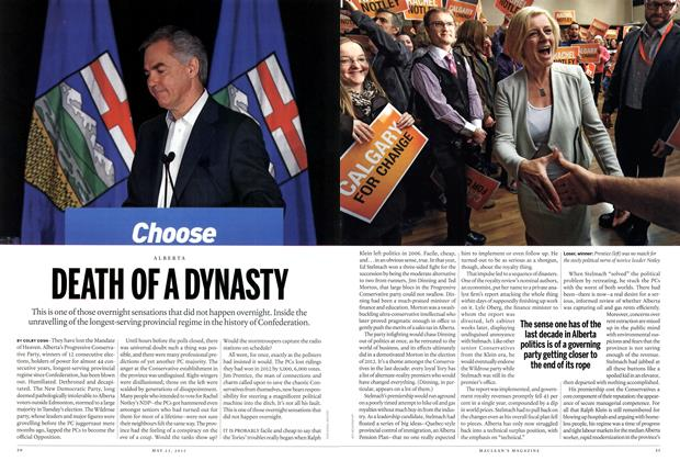 Article Preview: DEATH OF A DYNASTY, May 2015 | Maclean's