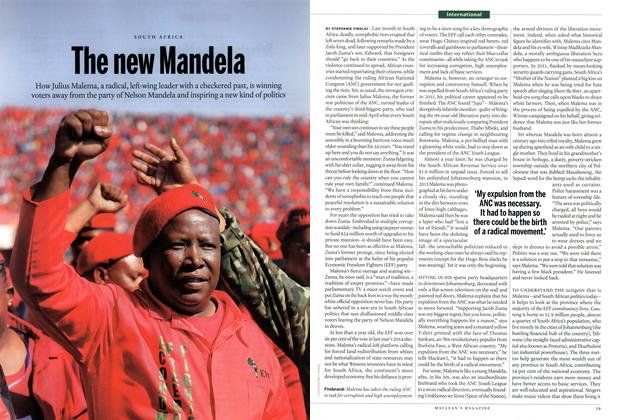 Article Preview: The new Mandela, May 2015 | Maclean's