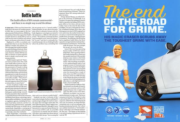 Article Preview: Bottle battle, May 2015 | Maclean's