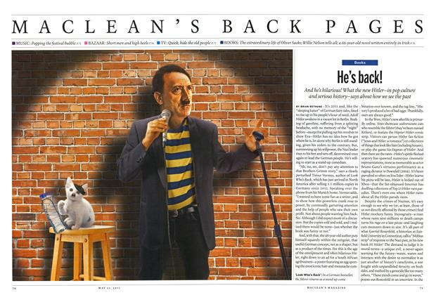 Article Preview: He's back!, May 2015 | Maclean's