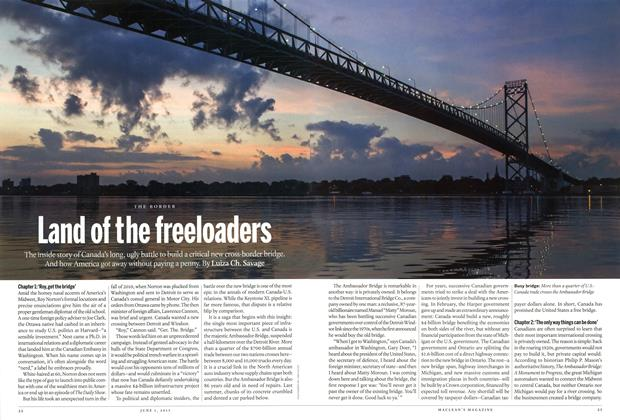 Article Preview: Land of the freeloaders, June 2015 | Maclean's