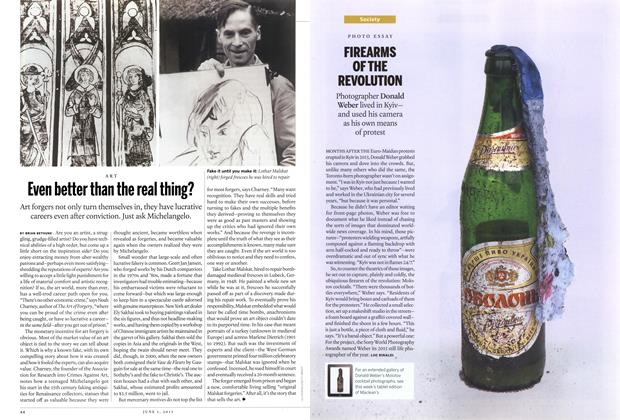 Article Preview: FIREARMS OF THE REVOLUTION, June 2015 | Maclean's