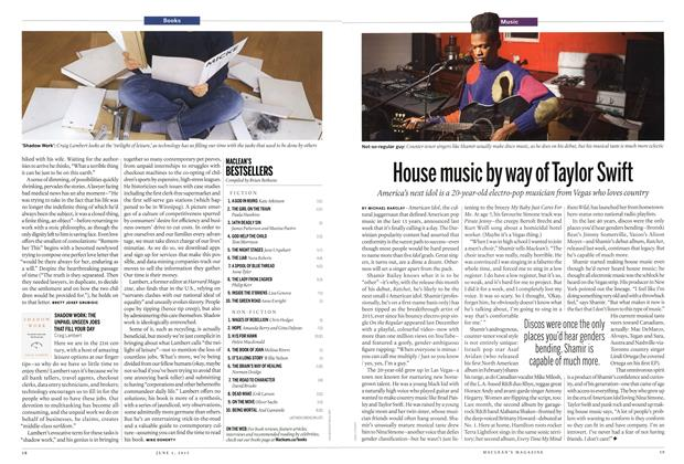 Article Preview: House music by way of Taylor Swift, June 2015 | Maclean's