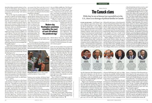 Article Preview: The Canuck clans, June 2015 | Maclean's
