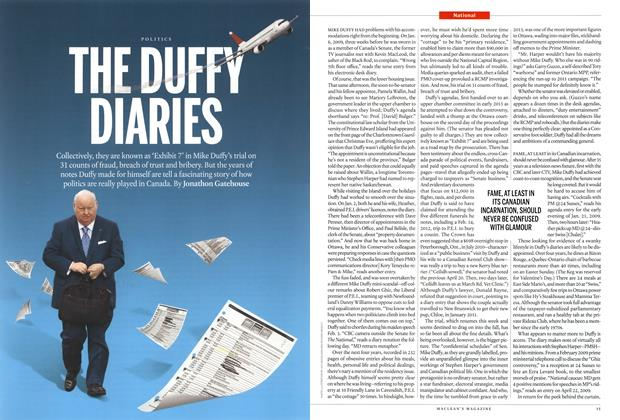Article Preview: THE DUFFY DIARIES, June 2015 | Maclean's