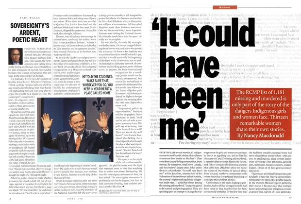 Article Preview: 'It could have been me', June 2015 | Maclean's