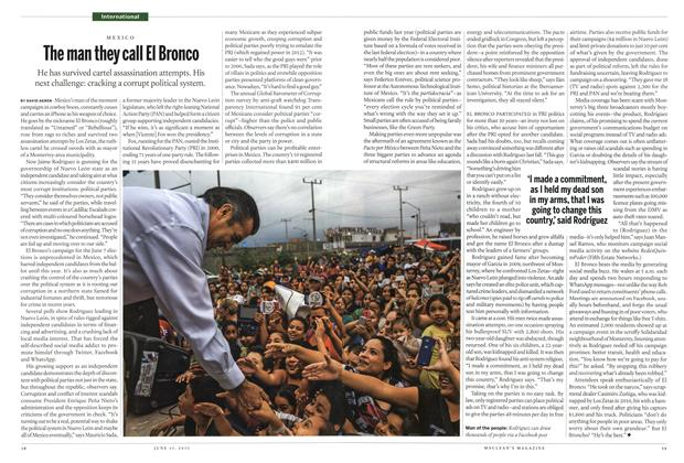 Article Preview: The man they call El Bronco, June 2015 | Maclean's