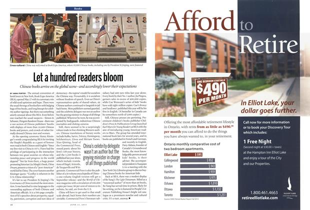Article Preview: Let a hundred readers bloom, June 2015 | Maclean's