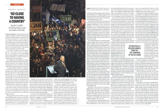 Article Preview: 'SO CLOSE TO HAVING A COUNTRY', June 2015   Maclean's