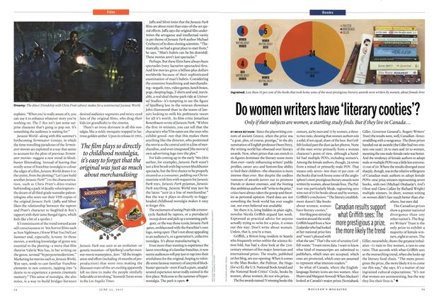 Article Preview: Do women writers have literary cooties'?, June 2015 | Maclean's